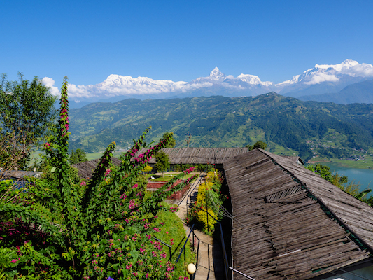 The Annapurna Range from Raniban. Credit: Adam Skold